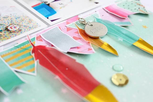 Scrapbooking Layout |Janna Werner | Pinkfresh Studio