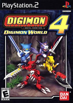 Baixar: Digimon World 4 - PC/PS2