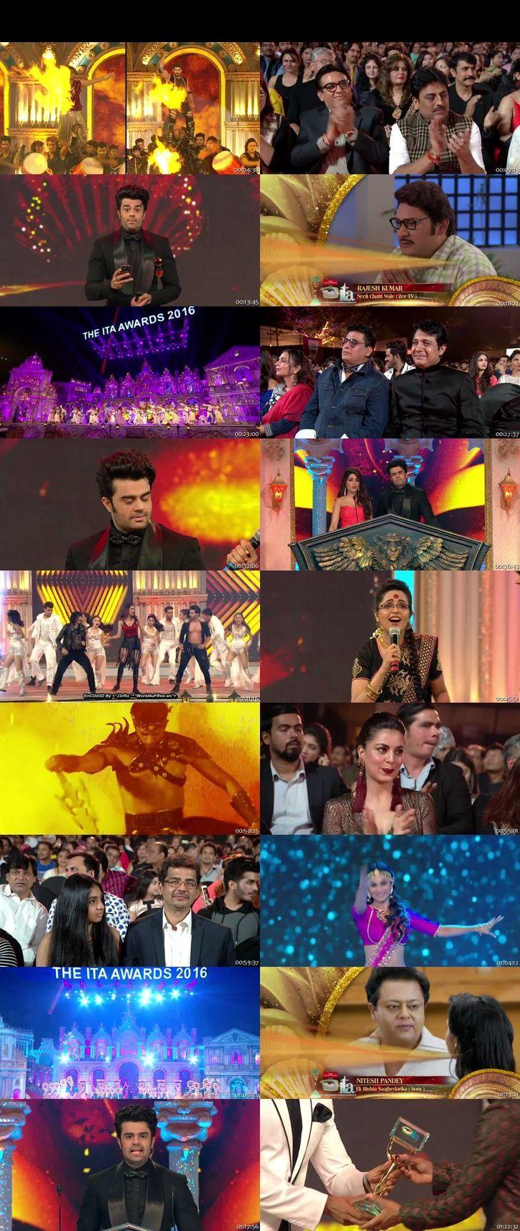 Screen Shot ITA Awards Star Night 2016 Full Show Download Free WebRip 720P 600MB HD