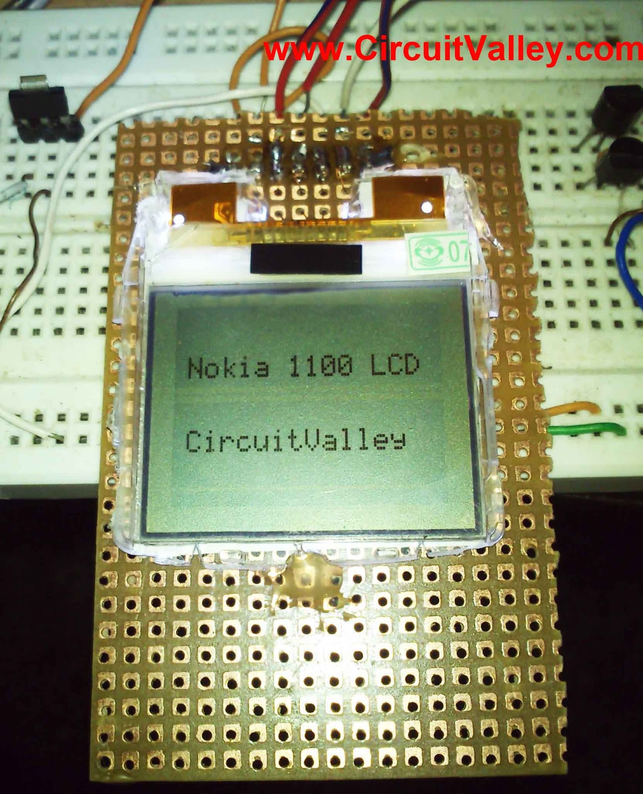 Embedded Engineering Nokia 1100 Lcd Interfacing With Microcontroller Question Electronics Forum Circuits Projects And Microcontrollers