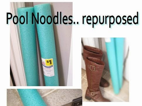 Finally found them, Pool Noodles Get Repurposed