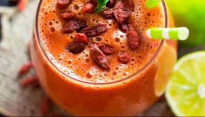 cara membuat jus goji berry