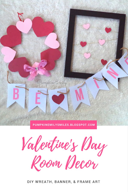 3 Diy Valentine S Day Room Decor Ideas Pumpkin Emily