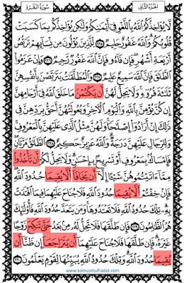 yang semoga selalu dalam lindungan Allah  89 Contoh Fi'il Mudhari Manshub di Dalam Al-Quran