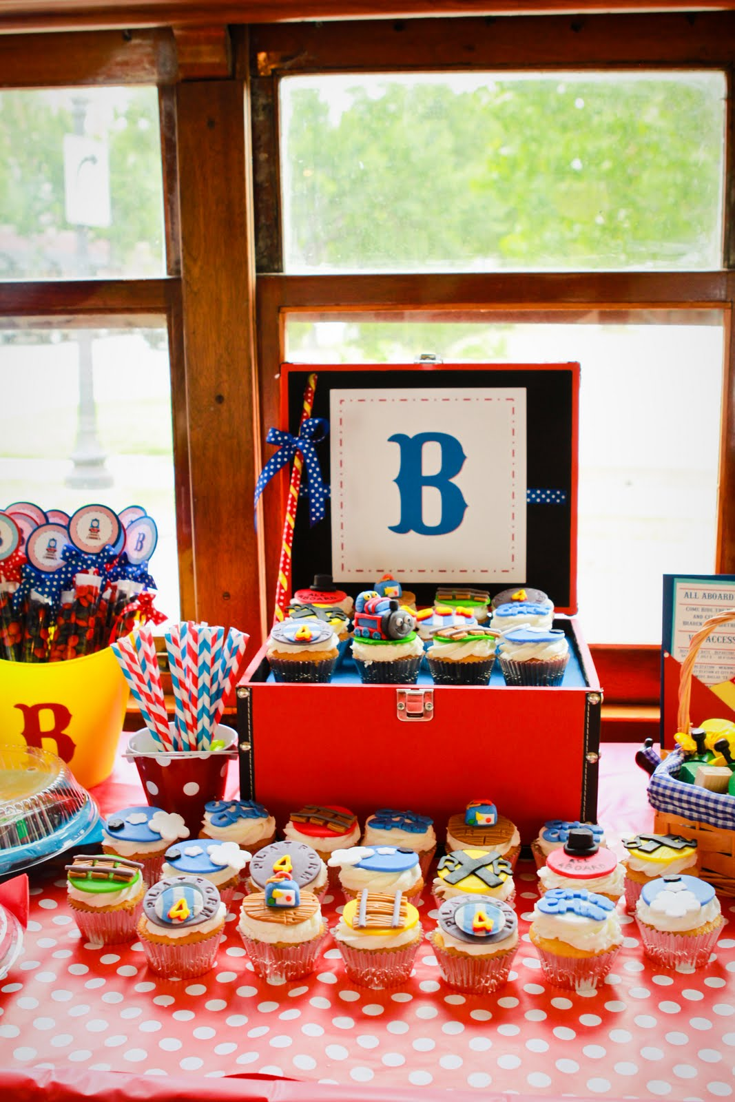 My Life Homemade All Aboard Our Boys Train Themed 4th Birthday Party