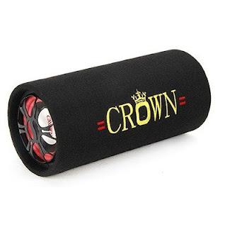 loa nghe nhạc crown 5 đế