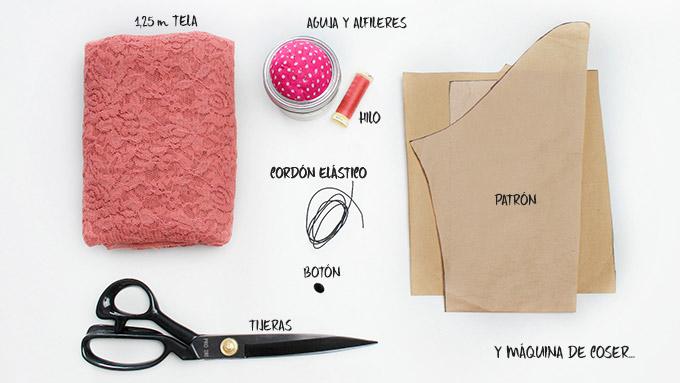 diy-blusa-encaje-materiales