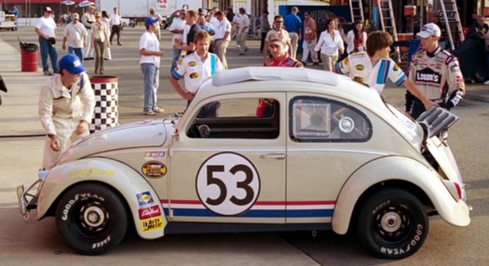 Just A Car Guy Herbie Fully Loaded Another Fun Movie Wiring Diagrams Of 1964 Plymouth 6 And V8 Savoy Belvedere Fury Part 2