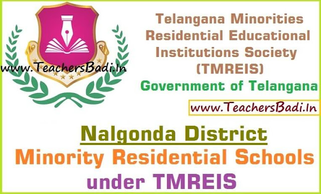 Nalgonda District,Minority Residential Schools,TMREIS
