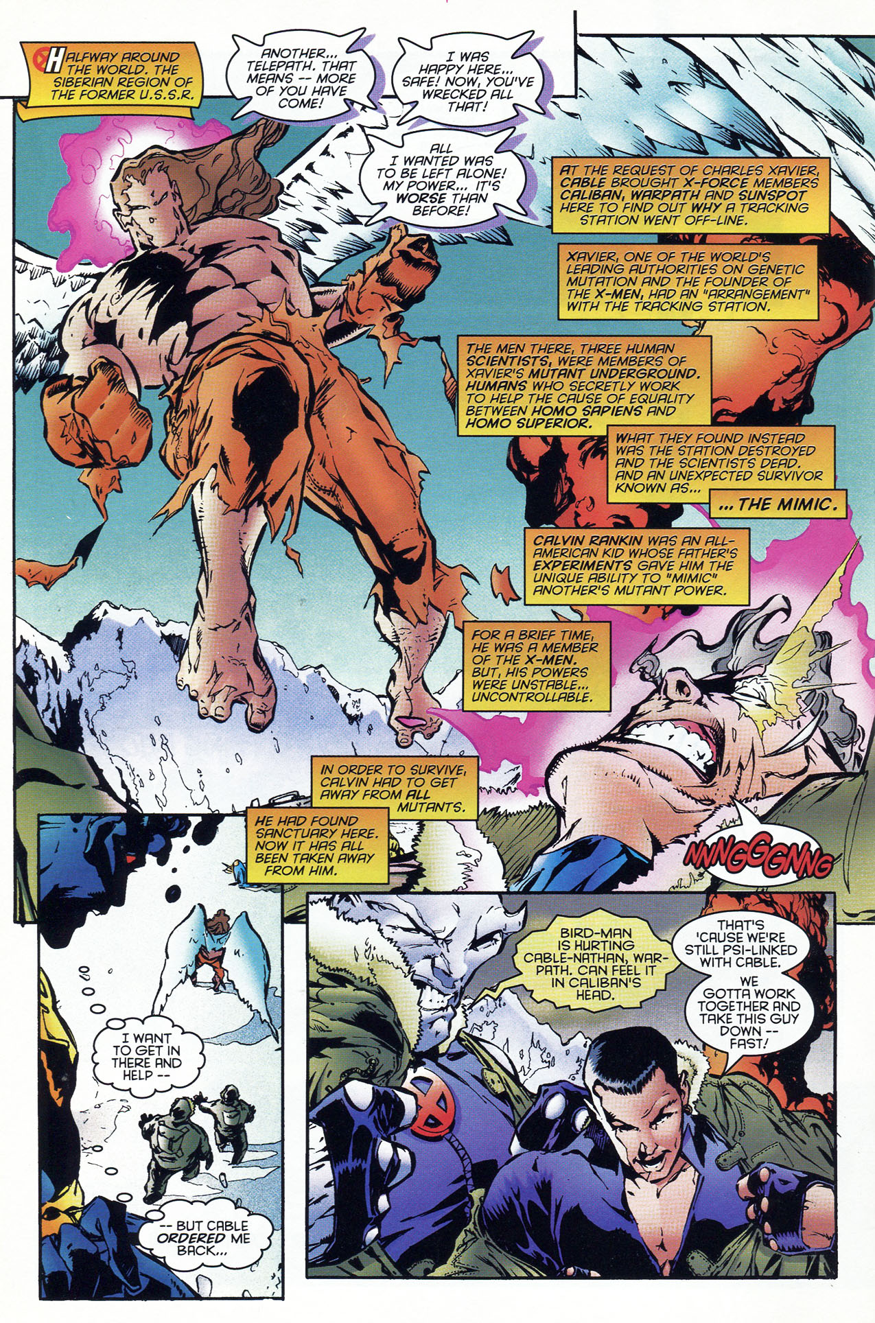 Read online X-Force (1991) comic -  Issue #46 - 7