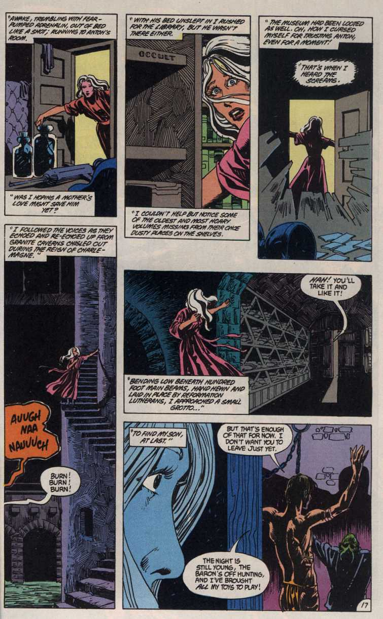 Swamp Thing (1982) Issue #83 #91 - English 17