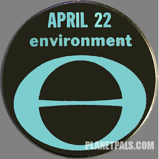 Check out the Original Earthday Buttons Circa 1970!