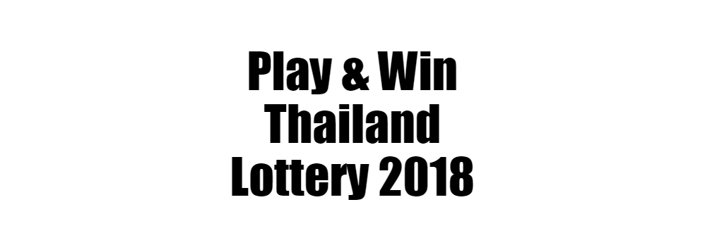 Thai Lottery Today Win Number