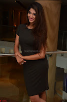 Priya Vadlamani super cute in tight brown dress at Stone Media Films production No 1 movie announcement 061.jpg