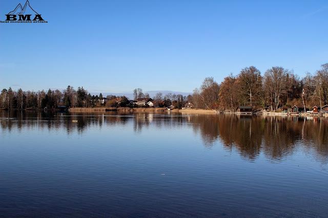 Rundtour um den Staffelsee Strandbad Staffelsee Murnau Wandern im Blauen Land - Blaues Land Tourismus Staffelsee - Best Mountain Artists - Wandern in Bayern