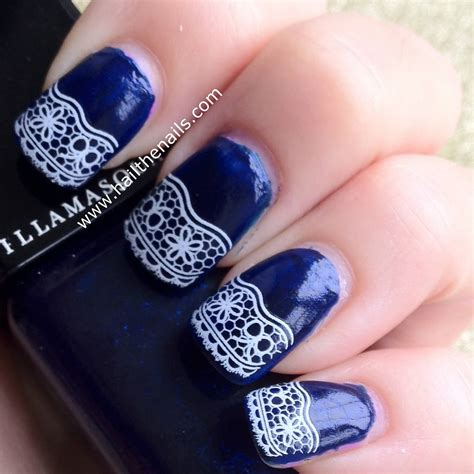 Top 100 Blue Nail Art Designs