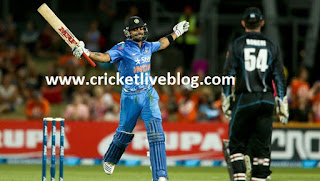 india vs new zealand live t20 cricket score