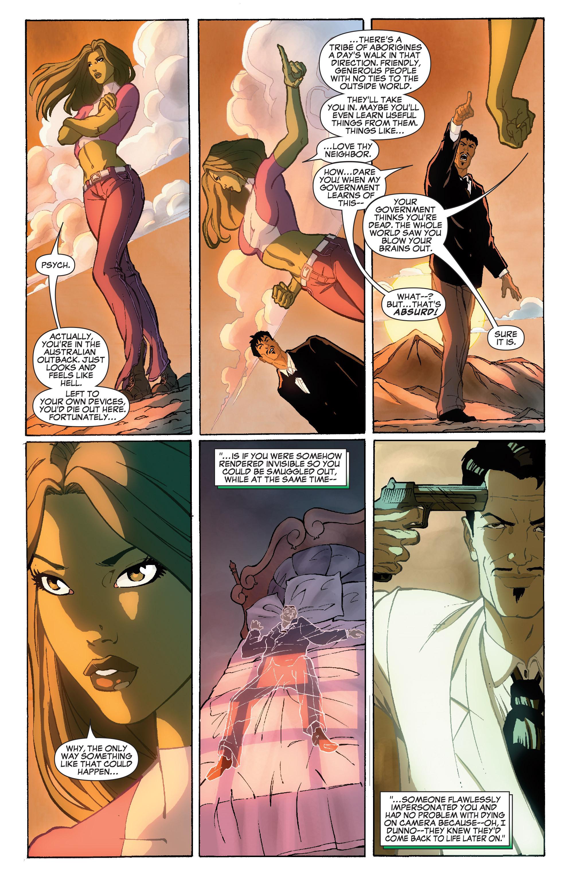 Read online She-Hulk (2005) comic -  Issue #36 - 22