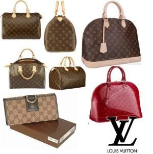 perbedaan tas LV asli dan LV palsu