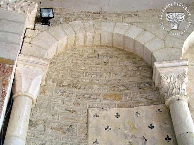 TIL-CHATEL (21) - Eglise romane Saint-Florent (Intérieur)