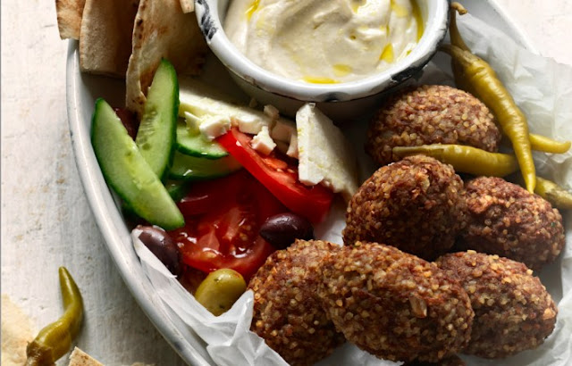 Lebanese Kibbeh With Lemon Tahini