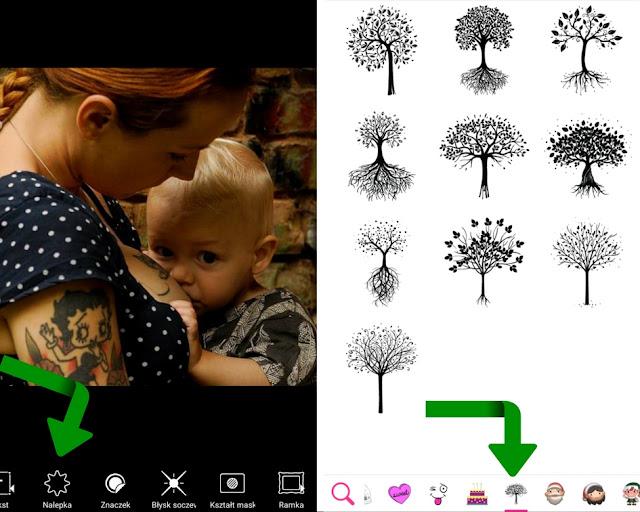 Wybierz naklejkę drzewa życia