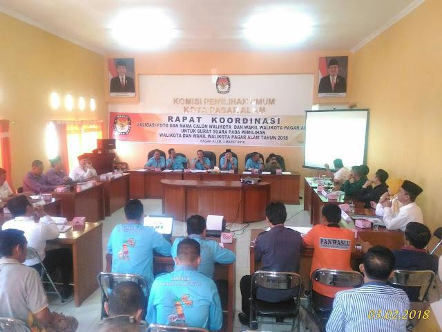 KPU- Wako dan Wawako sepakati Bentuk surat suara Pilkada