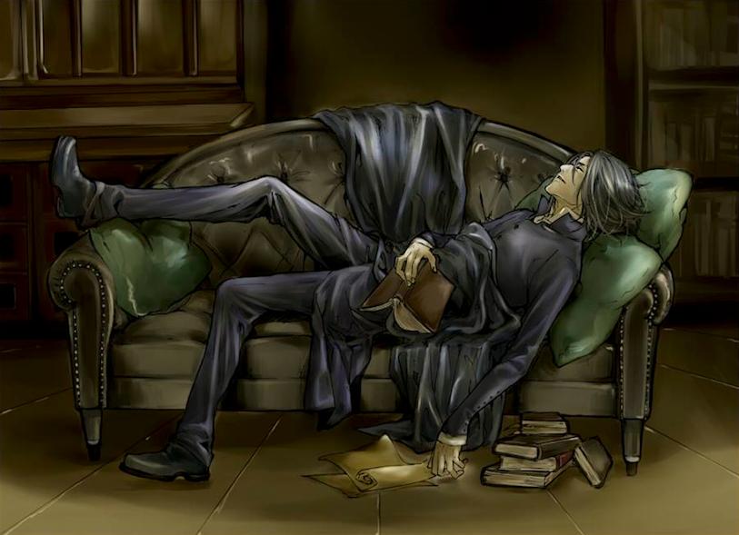 Fan art Rogue Snape