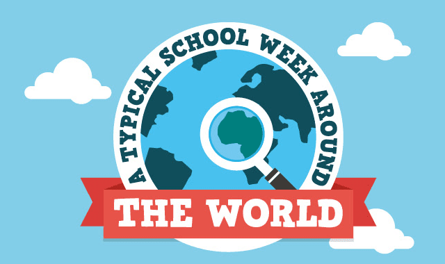 A Typical School Week Around The World