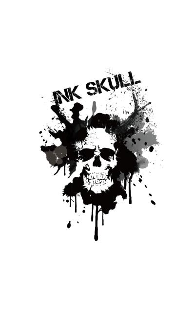 INK SKULL -ver.2-