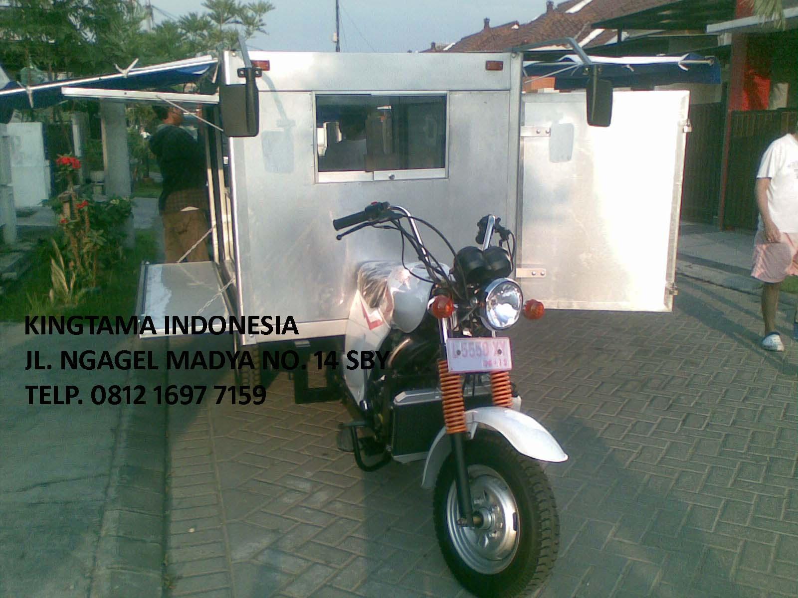 Modifikasi Motor Gerobak Beemotor Kaisar Triseda Rx 250 Cc Long Box Roda 3 Untuk Usaha Anda