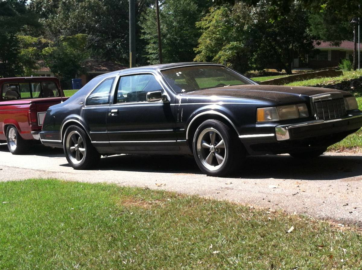 Daily Turismo Mustang In A Tux 1988 Lincoln Mark Vii