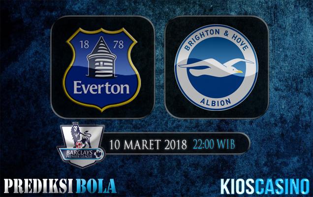Prediksi Skor Everton vs Brighton Hove Albion 10 Maret 2018