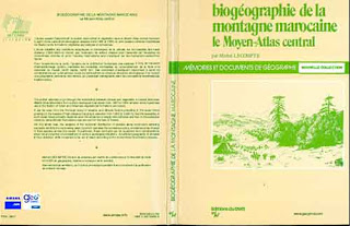 Biogéographie de la montagne marocaine: Le Moyen-Atlas central (pdf)