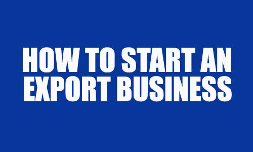 an export business