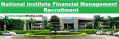 nifm-national-institute-financial-management-jobs