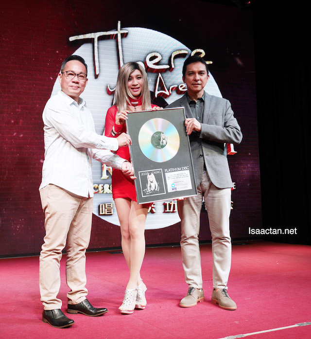 Jessie Chung's 'There You Are' Album Certified Platinum
