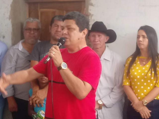 PREFEITO IDAN TORRES INAUGURA SISTEMA DE ABASTECIMENTO DE ÁGUA NO POVOADO NAZARÉ