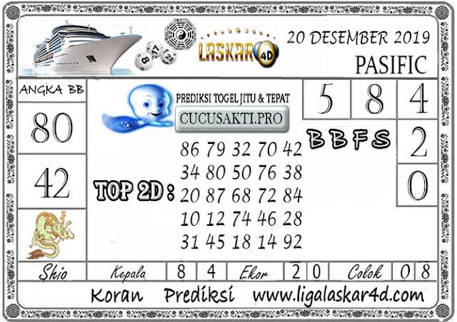 Prediksi Togel PASIFIC LASKAR4D 20 DESEMBER 2019