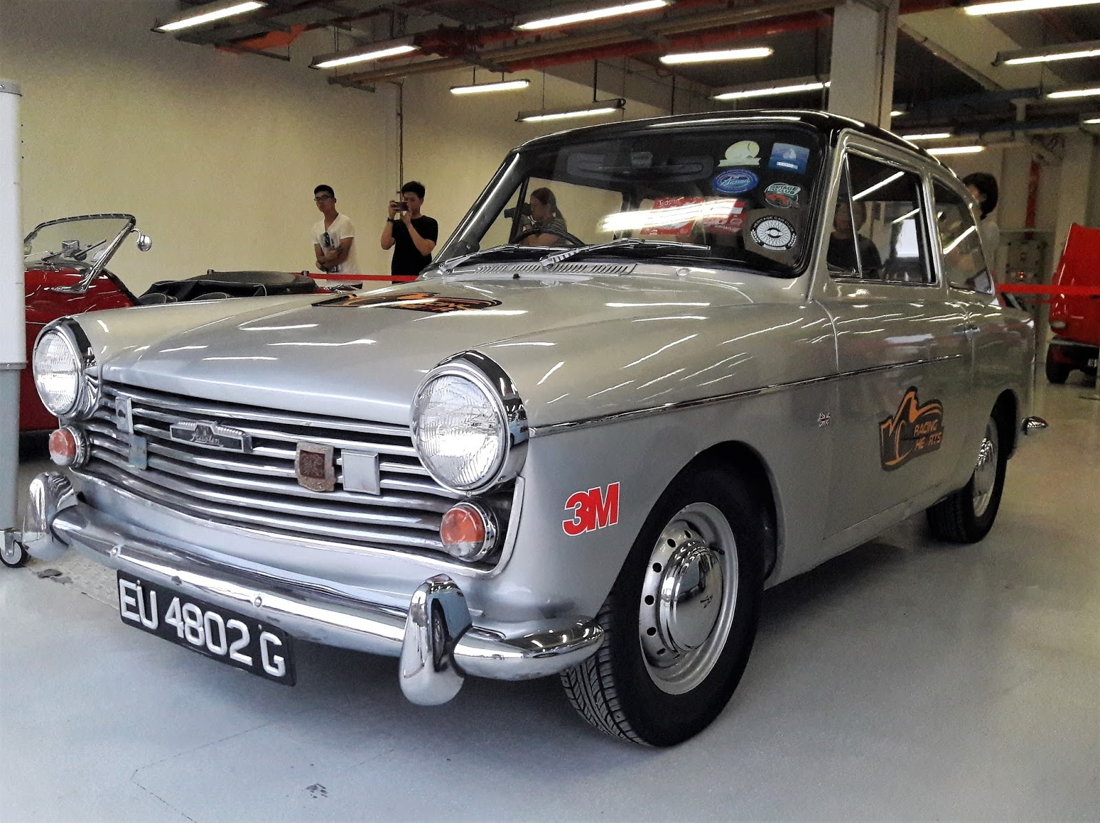 Singapore Vintage and Classic Cars: More than an old car #9 : Austin A40