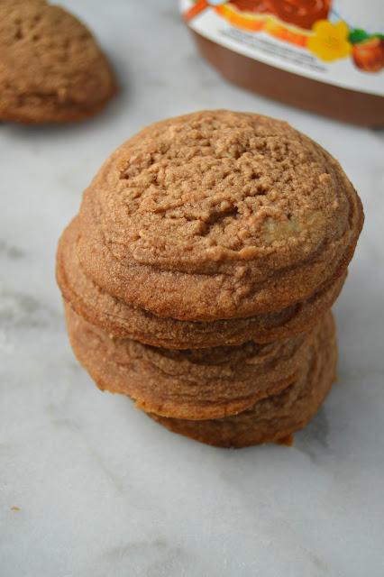 Nutella Drop Cookies