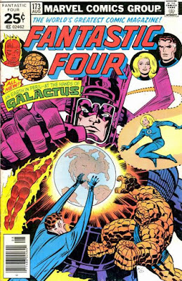Fantastic Four #173, Galactus is back
