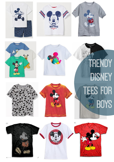 Neutral+modern+trendy+disney+shirts+for+boys