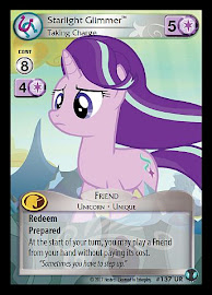 My Little Pony Starlight Glimmer, Taking Charge Defenders of Equestria CCG Card