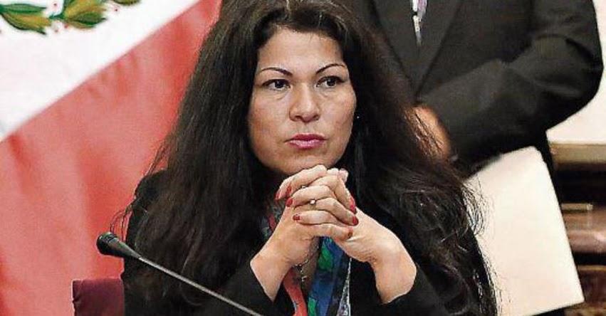 Poder Judicial evaluará levantamiento de inmunidad de fujimorista Yesenia Ponce por la presunta comisión del delito contra la fe pública