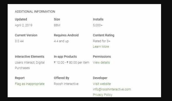 Identifikasi Aplikasi Palsu - Periksa Izin dalam Aplikasi