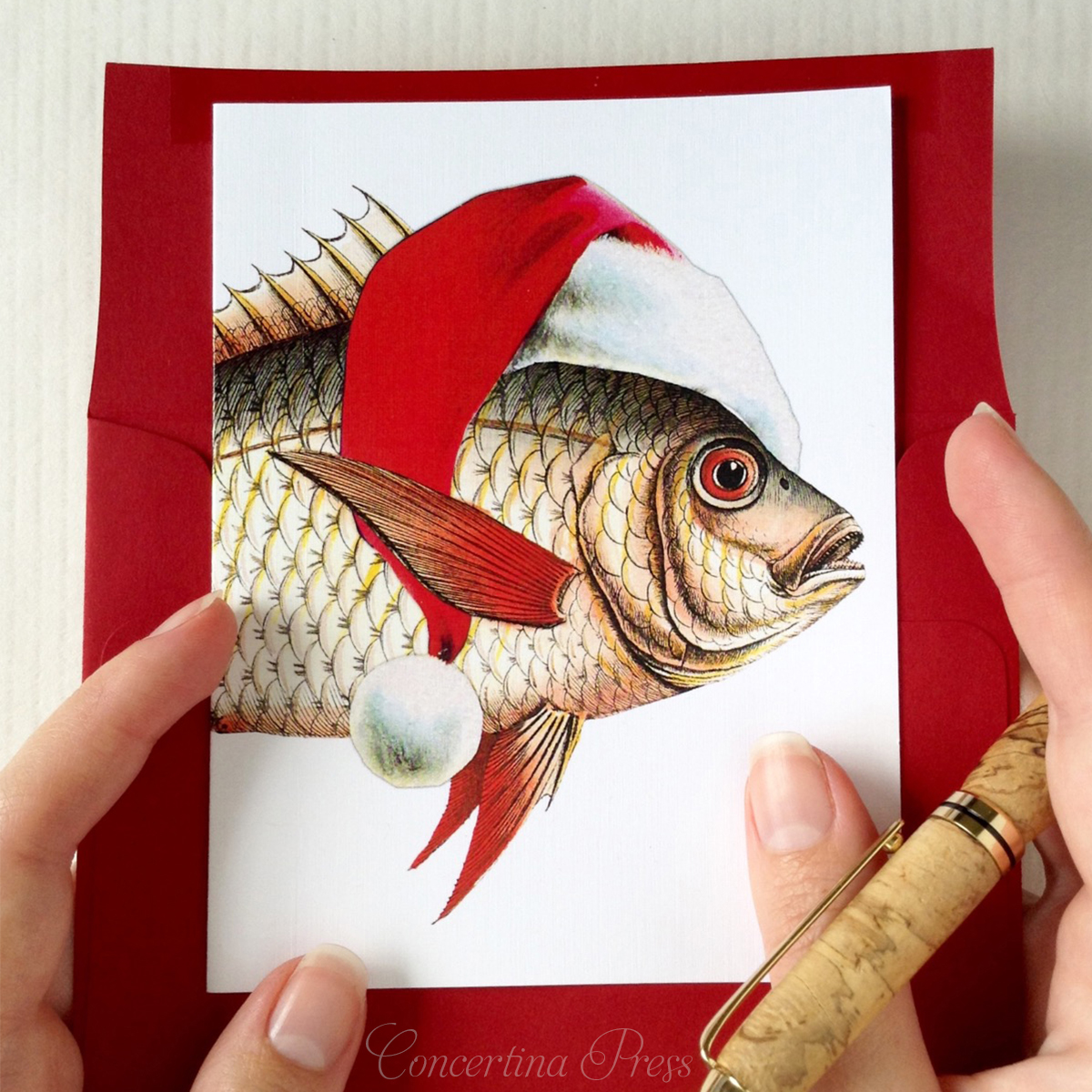 Funny Beach Christmas Cards made in the USA