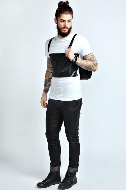 Look Masculino com Camiseta Painel