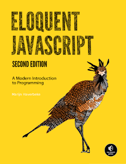 Eloquent JavaScript book cover