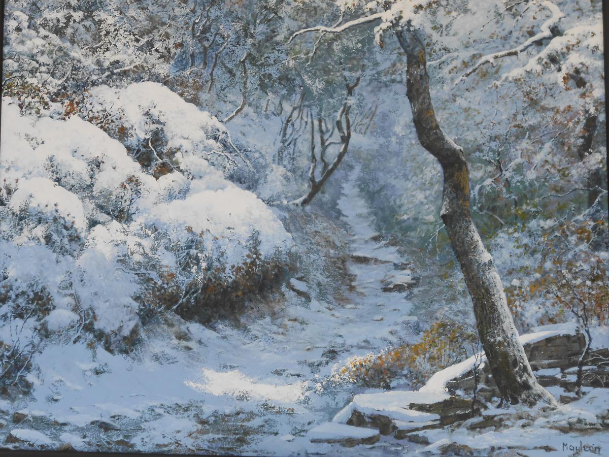 En blanco y negro el crujir de la nieve for Blanco nieve